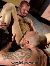 Hairy Tober and Brock from Hairy Boyz