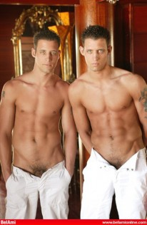 The Lautrec Twins from Bel Ami Online