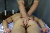 Massaging Drew from Buzz West