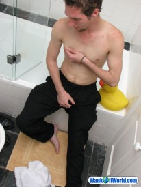 Will Jerking At Bath from Wank Off World