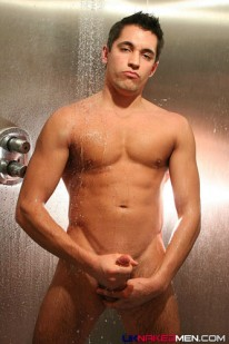 Paul In The Shower from Uk Naked Men