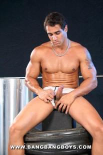 Muscle Hunk Marcos from Bang Bang Boys