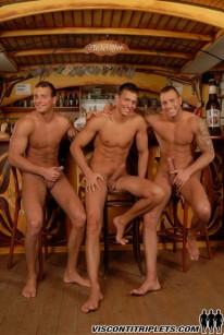 Visconti Triplets Posing from Visconti Triplets