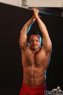 Hairy Bodybuilder John from Butch Dixon