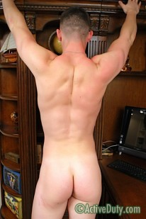 Military Hunk Conrad from Active Duty