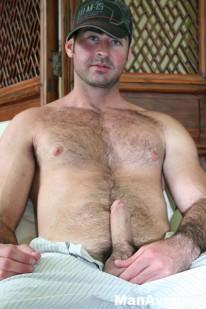 Hunky Hairy Berke from Man Avenue