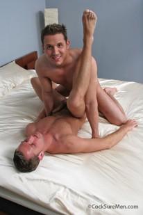 Pat And Blake Bareback from Cocksure Men