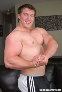 Muscle Hunk Trevor from Spunk Worthy