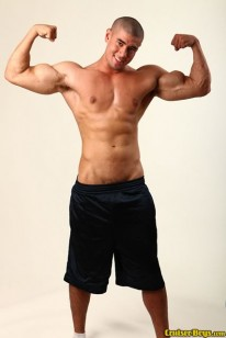 Straight Muscle Hunk Kay from Cruiser Boys