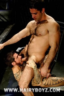 Logan And Roman from Hairy Boyz