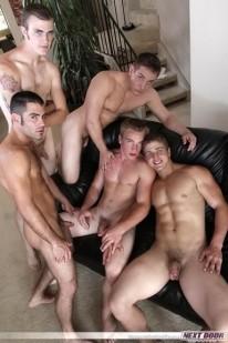 Fratboy Orgy from Next Door Buddies