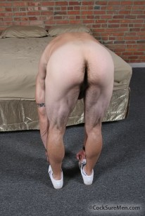 Stroking Sean Wallace from Cocksure Men