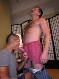 Sucking Off Coach from New York Straight Men