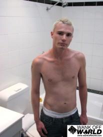 Daniels Shower Fun from Wank Off World