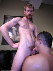 Servicing Josh from New York Straight Men