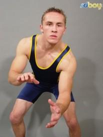 Straight College Wrestler from Sd Boy