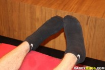 Worshiping Tommys Feet from Daddy Mugs
