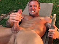 Bo Dean Sunbathing from Cocksure Men