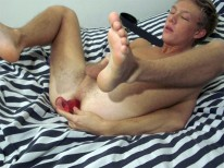 Spring Dildo Action 2 from Dirty Boy Video