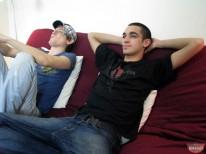 Blake And Damien Jerkin from Broke Straight Boys