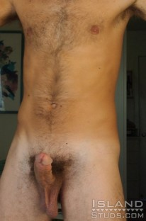Furry Blonde Surfer from Island Studs