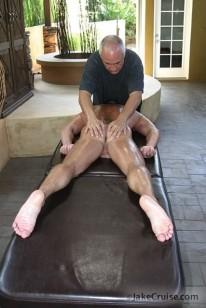 Tyler Saint Massaged from Jake Cruise
