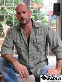 Aussie Bear Aaron from Wank Off World