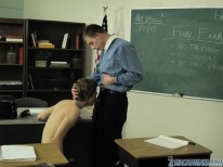 Pissed Off Teacher from Teach Twinks