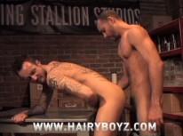 Antonio And Xander Fuck from Hairy Boyz