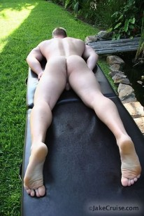 Cody Cruz Massaged from Jake Cruise