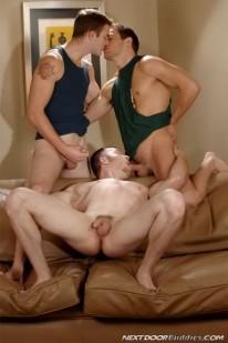 Porn Star 3way from Next Door Buddies