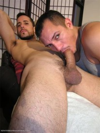 Sucking Off Aaron from New York Straight Men