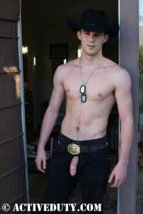Amateur Hunk Cory from Active Duty