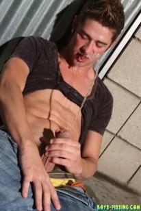 Shane Guzzling from Boys Pissing