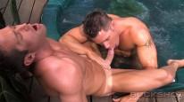 Benjamin Tops Brian from Colt Studio