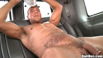 Straight Hunk Wolf from Bait Bus