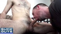 Swallowing Ricks Load from Suck Off Guys