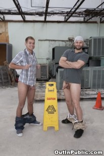David And Seth Fuck from Out In Public