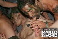 Uncut Soliders from Naked Sword