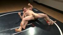 Martin And Dj Wrestle from Naked Kombat