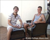 Zack Fucks Jake from Broke College Boys