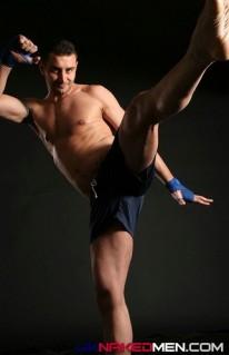 Boxing Jock Tom from Uk Naked Men