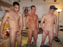 Horny College Dudes from Dick Dorm