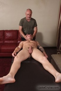 Massaging Parker London from Jake Cruise