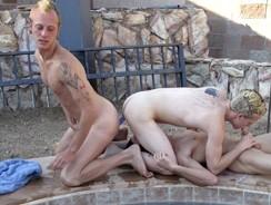 Spa Circle Jerk from Broke College Boys