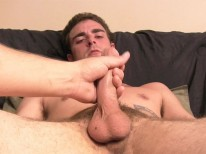 Stroking Duke from Straight Fraternity