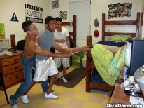Dirty Dorm Fun from Dick Dorm