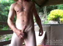 Charlie Jerks Off from Island Studs