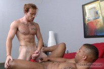 James And Robert Fuck from Cocksure Men