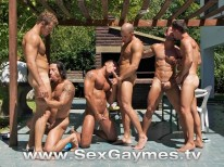 Sexgaymes Orgy from Sex Gaymes